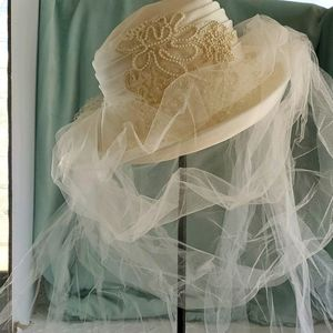 VINTAGE WEDDING HAT